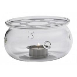 Ohřívač konvice 'Flair', Skleněný pr,13 cm - Trendglas